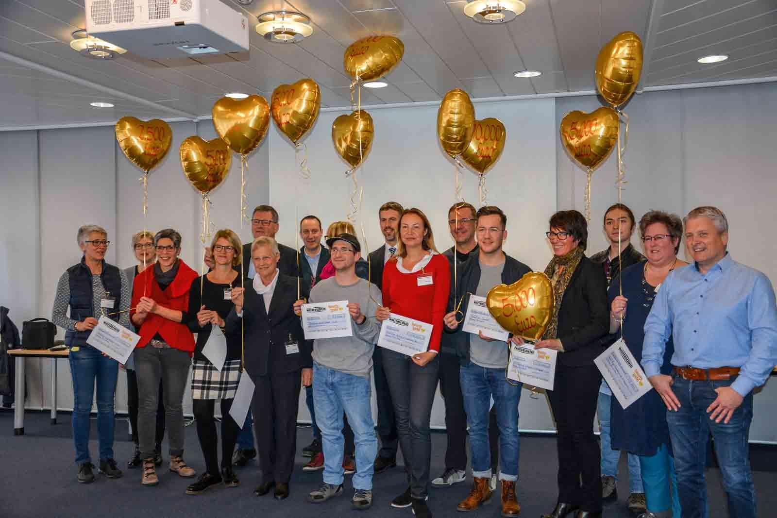 Hearts of Gold – eine Aktion der Walterscheider, um soziale Projekte in der Region zu unterstützen