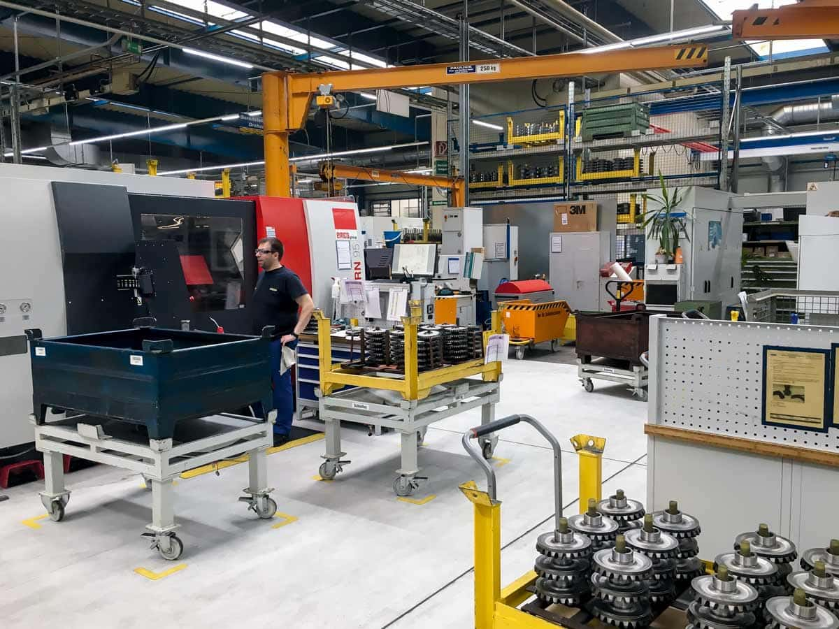 Das Getriebewerk im sächsischen Sohland entwickelt sich zu einem wichtigen Bestandteil der Walterscheid-Produktion.