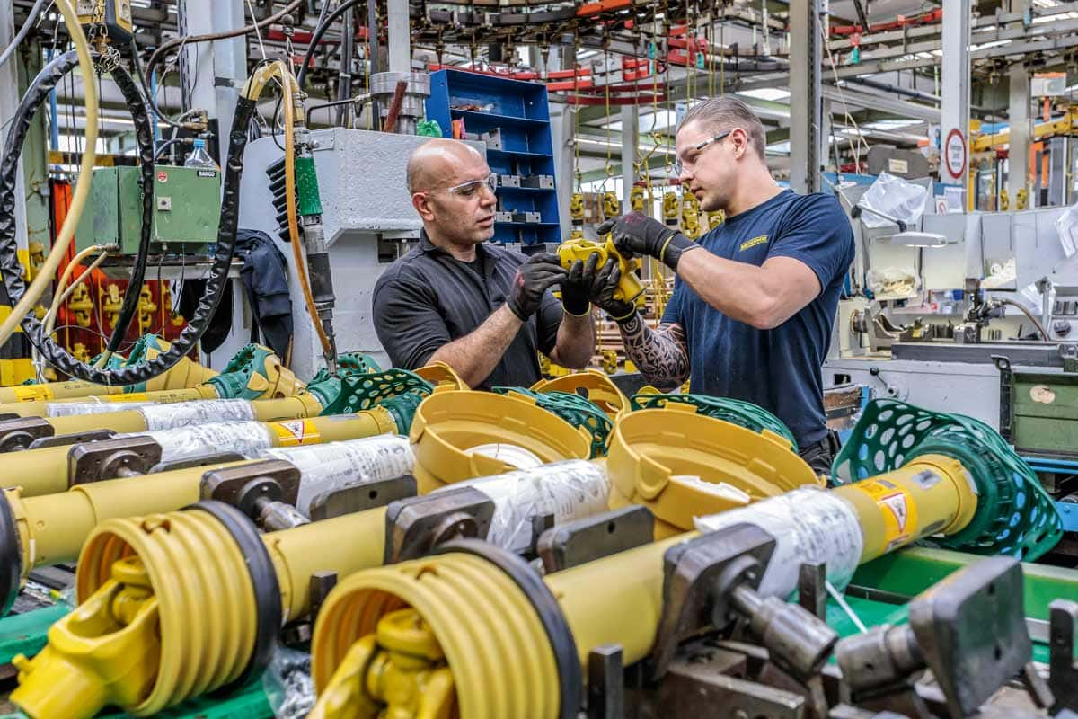 Sorgfalt und moderne Technik sichern den hohen Standard in der Produktion.