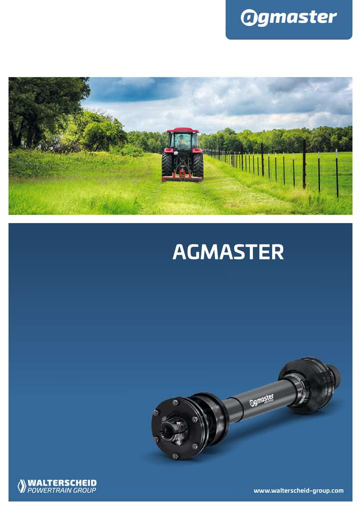 Agmaster® Drive Shafts
