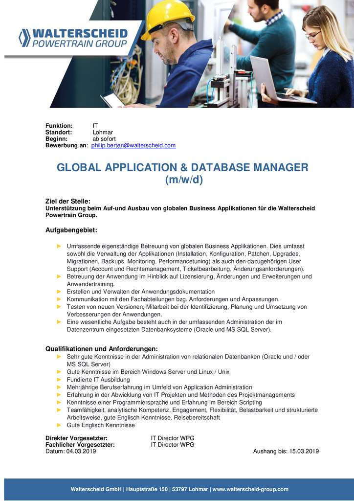 thumbnail of Global-Application-Database-Manager-interne-Ausschreibung-WPG