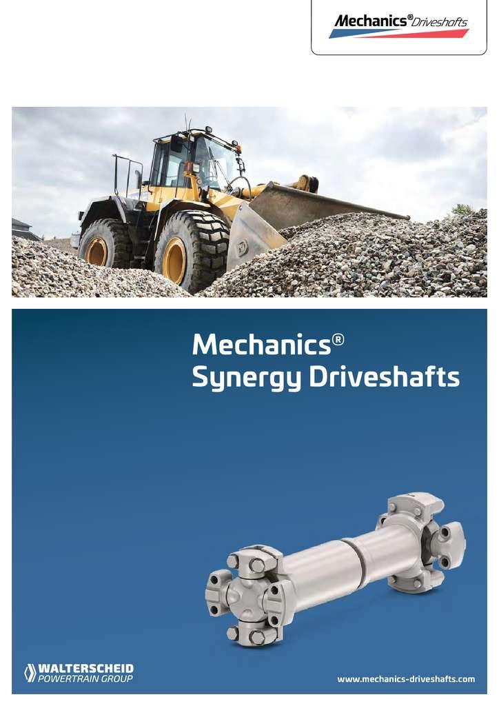 Mechanics Synergy Driveshafts