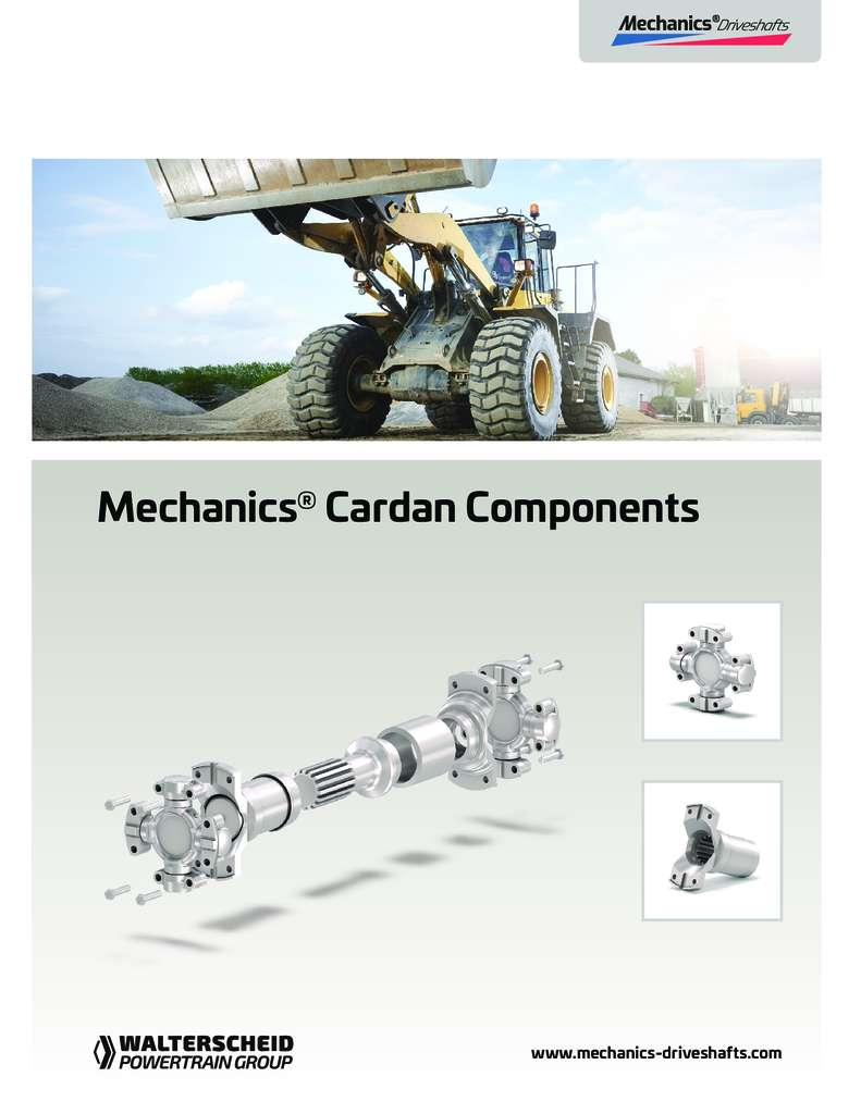 Mechanics Cardan Components