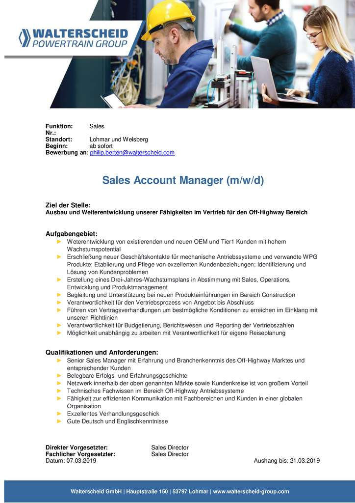 thumbnail of Sales-Account-Manager-interne-Ausschreibung