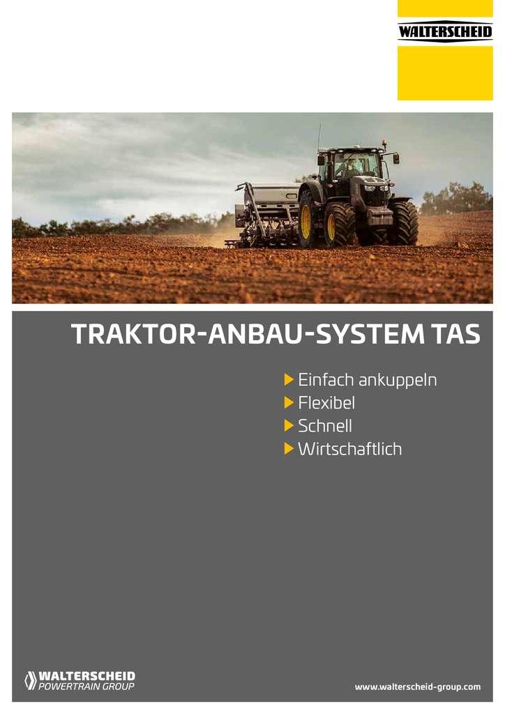 Walterscheid Traktor-Anbau-System Broschüre