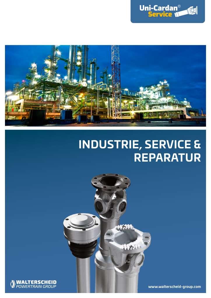 Uni Cardan Industrie, Service & Reparatur