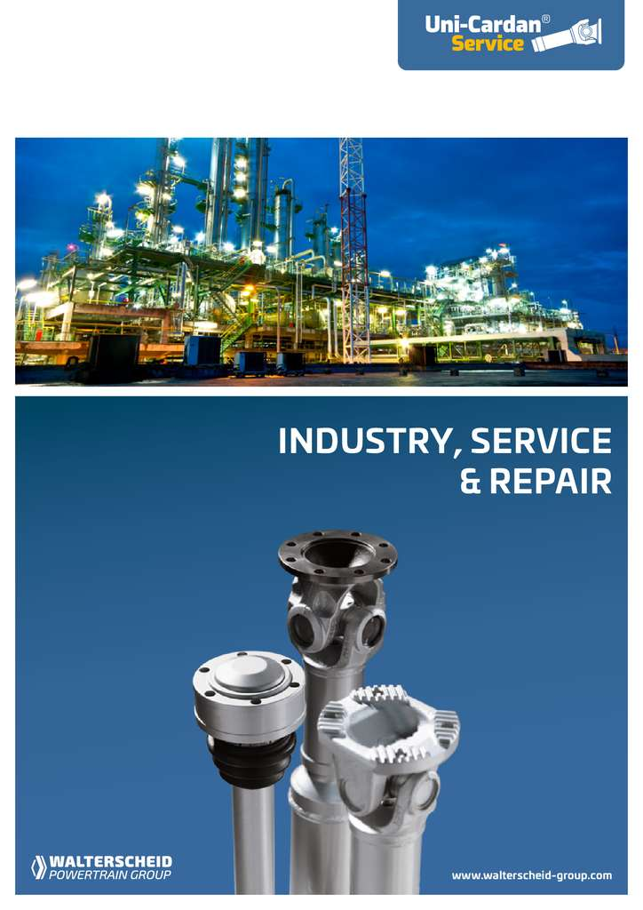 Uni Cardan Industry, Service & Repair