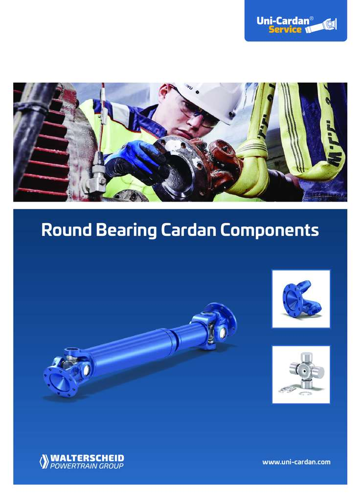 Uni Cardan Round Bearing Components