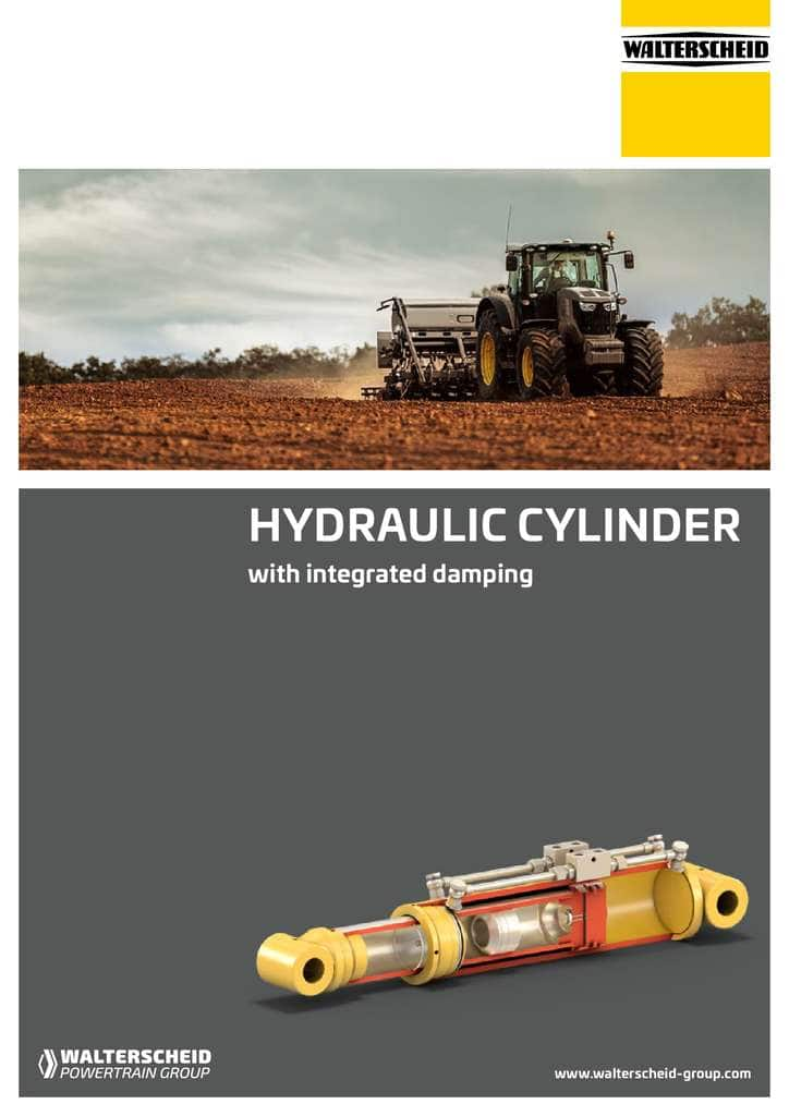Walterscheid Hydraulic cylinder brochure