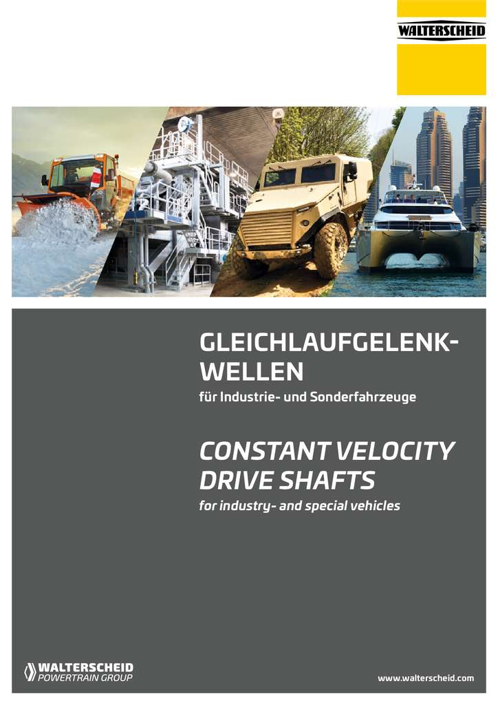 CDC Driveshaft Brochure