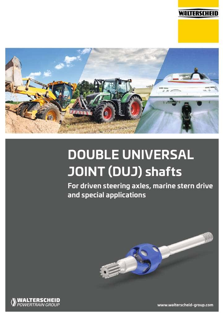 DUJ – Double Universal Joint Driveshafts Brochure
