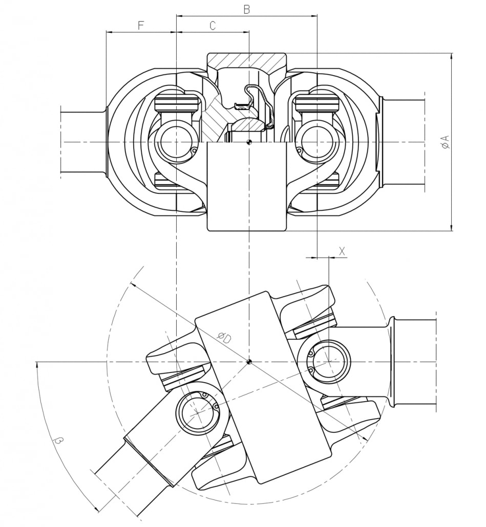 Cdc Centered Double Cardan Driveshafts Walterscheid Powertrain Group