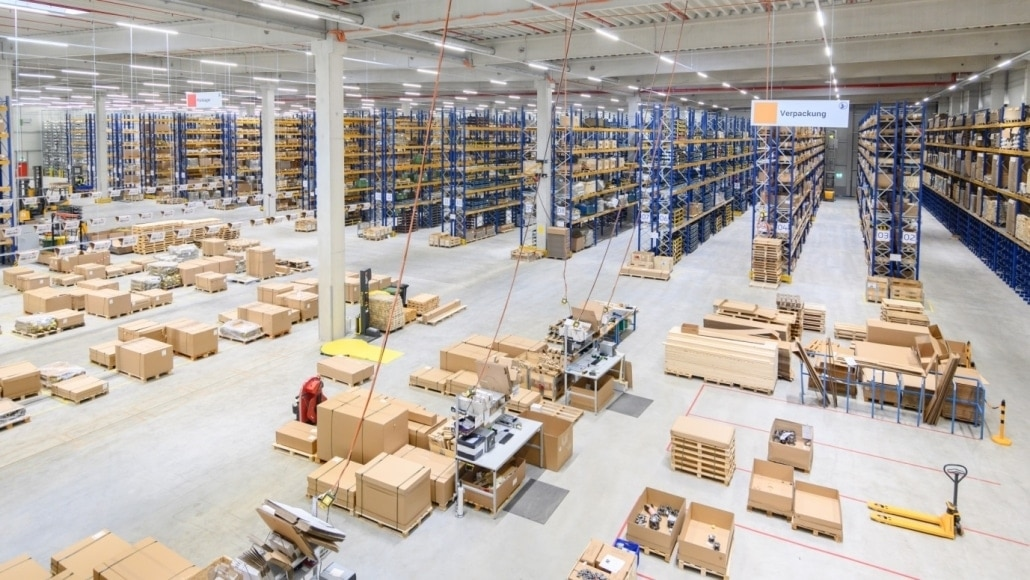 New Central Warehouse for Walterscheid Powertrain Group by Hellmann Logiostics