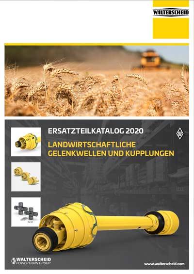 Walterscheid PTO Drive shafts catalogue 2020 - german